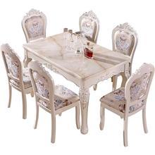 Masa Sandalye Redonda Kitchen Esstisch Tavolo Da Pranzo Escrivaninha Yemek Masasi European Desk Bureau Mesa Tablo Dining Table
