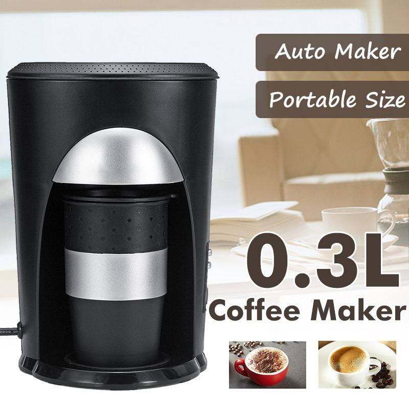 Coffee Maker Mocha Automatic Coffee Cup Drip Filter Espresso With Travel Cup Automatic Power Off Homezest CM-901