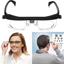 525005a459 Dial vision Adjustable Len Reading Glasses Myopia Eyeglasses -6D to +3D  Variable Lens Correction