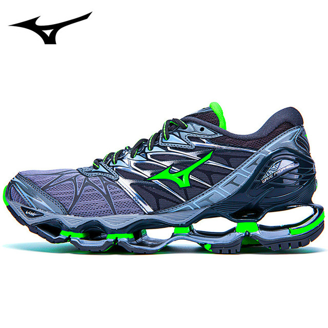 faba41590 MIZUNO WAVE Prophecy 7 professional Stable Sports Outdoor sneakers chuteira  futebol Men Shoes running shoes Weightlifting Shoes