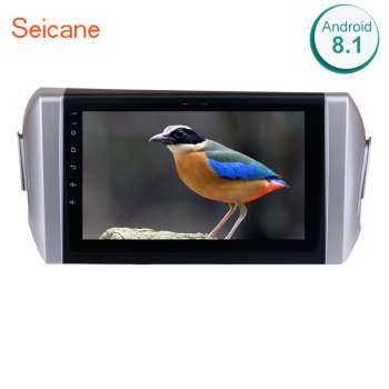 Seicane Android 8.1 2DIN Car Head Unit Radio Audio GPS Multimedia Player For 2015 Toyota INNOVA LHD support SWC Bluetooth USB image