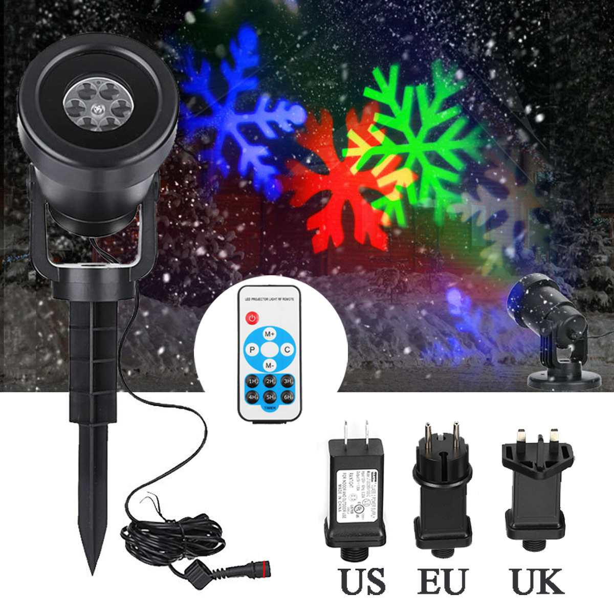 12 Patterns Outdoor LED RGB Laser Stage Light Garden Landscape Projector Moving Laser Stage Light for DJ Disco Christmas Party12 Patterns Outdoor LED RGB Laser Stage Light Garden Landscape Projector Moving Laser Stage Light for DJ Disco Christmas Party
