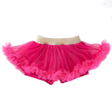 Cute Baby Girl Tulle Tutu Skirts Newborn Photography Props Babies High Quality Birthday Gift Red Outfits Clothing Princess Skirt(China)
