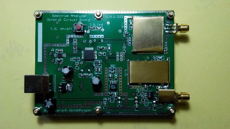 ADF4351 33mHz à 4400mH spectre Simple avec source de suivi T.G. Outil d'analyse de fréquence RF balayeuse générateur de traces radio jambon