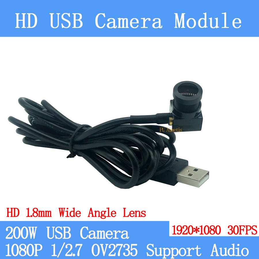 2MP wide angle 135degrees Surveillance camera 1080P Full Hd MJPEG 30FPS High Speed Mini CCTV Linux