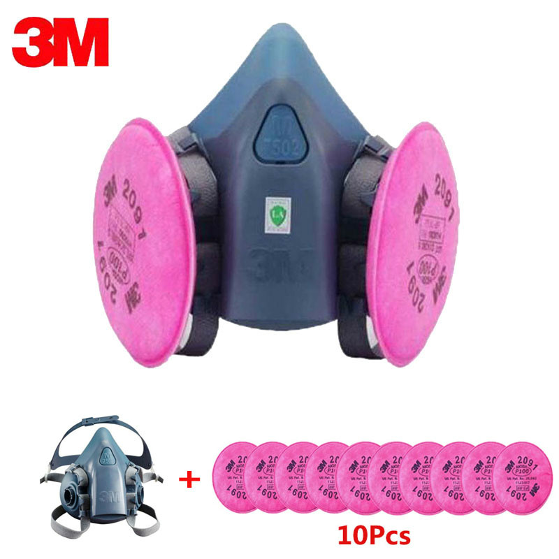 This Product Is Out Of Stock-- 2091 Industry Painting Spray Work Mask Respirator Anti-Dust Respirator Fliters