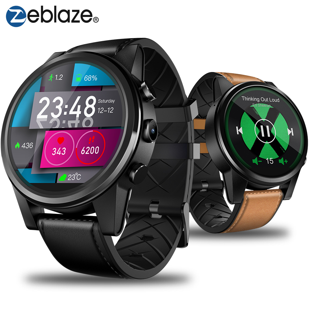 Zeblaze Thor 4 PRO 4G LTE Smart Watch Phone Android 7 1 1 Quad Core 1GB16GB