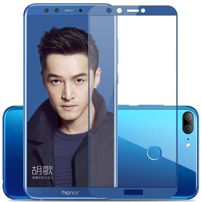 Стеклянная пленка для Huawei Honor 9 Lite, черное/белое/синее/серое/золотое взрывостойкое стекло с полным покрытием для Huawei Honor 9 Lite 9H, стекло 2,5D