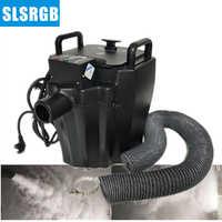 free shipping 3500w dry ice machine/ ground fog machine/ low fog machine For Wedding Party Event Night Club