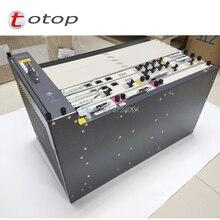 Huawei MA5683T 19 pouces GPON OLT équipement 10GE liaison montante avec 2 * SCUN + 2 * X2CS + 2 * PRTE GPON board MA5683T Terminal de ligne optique