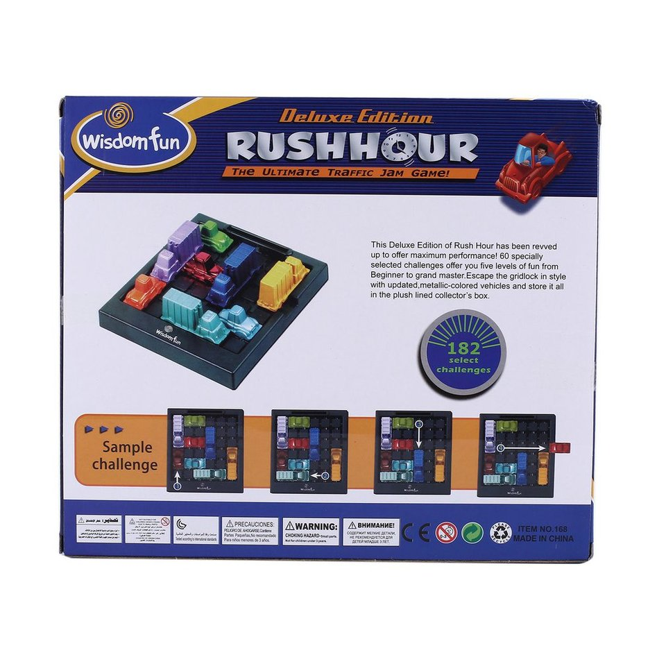 Rush Hour Traffic Jam Replacement Parts /& Pieces Think Fun Logic Game You Choose
