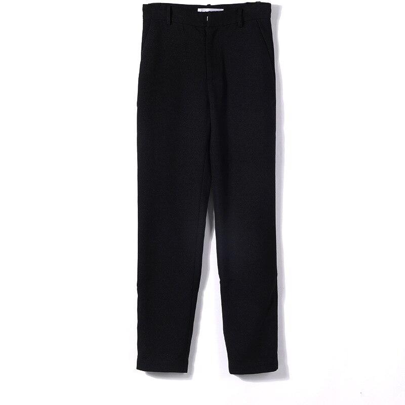 DEAT 2018 nuove donne di modo coreano fondo indossare poacket patchwork pantaloni della matita piatto di alta qualità della caviglia lunghezza WC04501L OL - 5