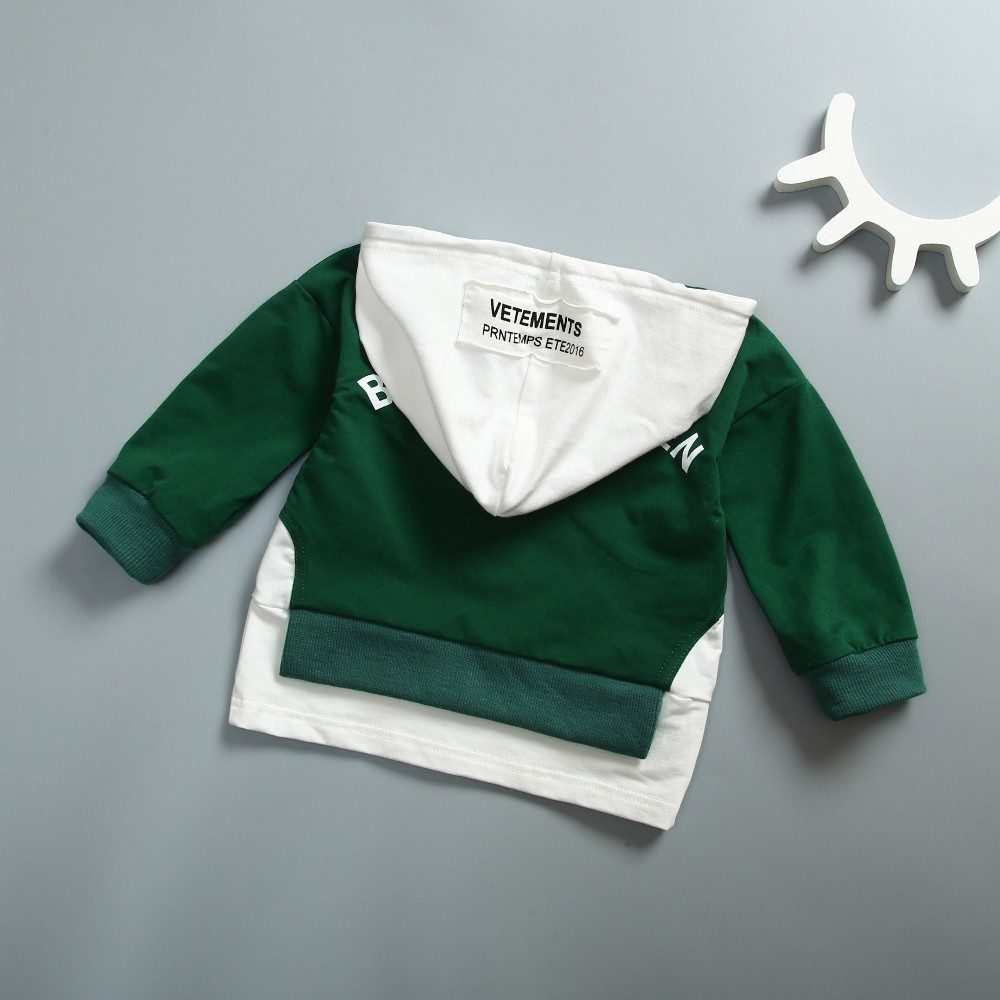 2019 New Spring Autumn Sale Fashion Infant Long Sleeve Hooded Cotton Kid Coat Baby Girl Boy Children sports Hoodies Sweatshirts