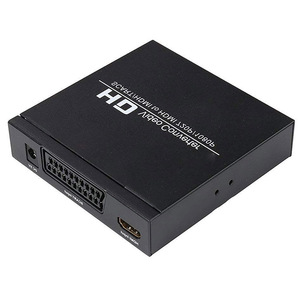 Image 5 - Top Deals PAL / NTSC SCART and HDMI to HDMI Video Converter Box 1080P Upscaler with 3.5mm and Coax Audio Output for Game Console