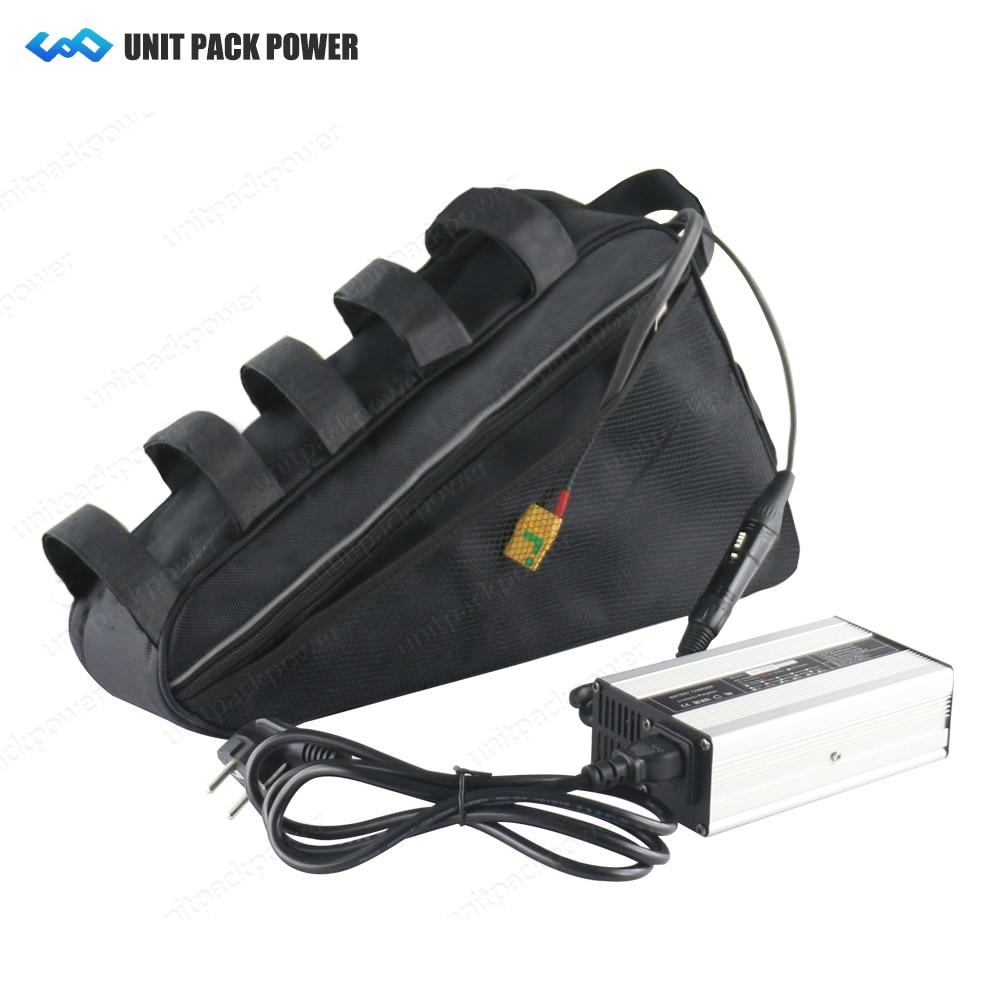 Électrique batterie au lithium 72 v 21 ah 20ah triangle batterie 1500 W 1800 W 2500 W E-scooters batterie avec 50A bms 3A chargeur rapide