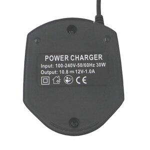 Image 3 - Li ion Batterij Oplader Voor Elektrische Boor 3.6 V/10.8 V Power Tool Li Ion Batterij Tsr1080 Gsr10.8 2 Gsa10.8V gwi10.8V Us Plug