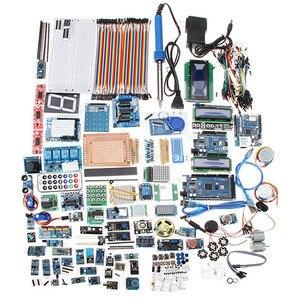 Для UNO Mega Nano Sensor реле, bluetooth, Wi-Fi, ЖК-дисплей, Стартовые наборы для Arduino, без батареи