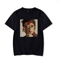 Повседневная футболка Женская Шон Мендес рубашка плюс размер Camisetas Mujer Poleras De Mujer черная футболка женская футболка