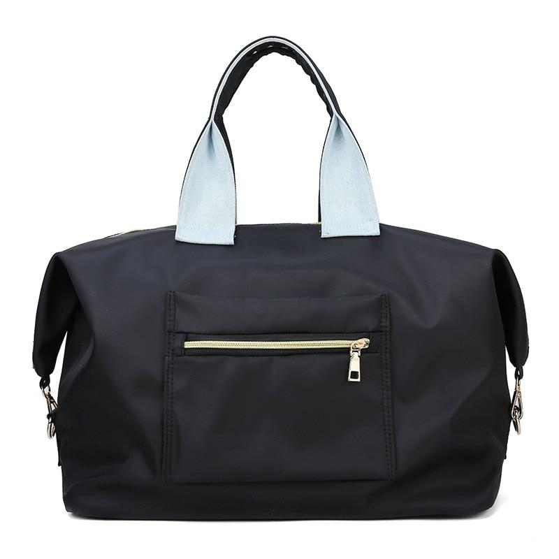 Imperméable à l'eau et anti-rayure Oxford voyage sac femmes bolso mujer grande emballage cubes sacs de voyage sac de voyage bagages à main sac - 2