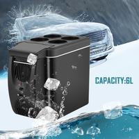 Professional 12V Refrigerator Freezer Heater 6L Mini Cooler Warmer Electric Fridge Portable Icebox Travel Refrigerator