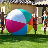 80/100/150cm Big Size Inflatable Beach Ball Water Play Sport Summer Toy Children Adults Game Party Ball Outdoor Fun Balloon PVC