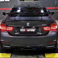 FOR BMW M1 M3 M4 M5 M6 1 2 3 4 5 6 7 Series MAD Carbon Fiber rear boot Wing Spoiler Rear Roof Spoiler Wing Trunk Lip Boot Cover