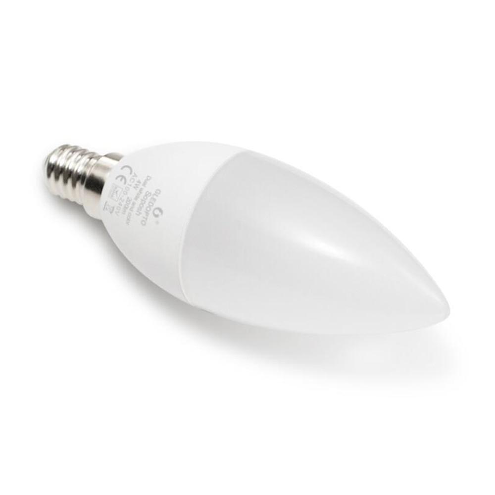 Купить с кэшбэком Zigbee ZLL LED 4W Candle Light Bulb RGB RGBW RGBWW CW Smart APP Control 110V 220V 230V 240V E12 E14 Work with Amazon Echo Plus