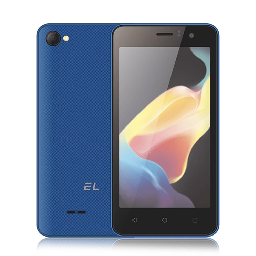 EL W45 3G Smartphone 4.5 pouces Android 6.0 MTK6580 Quad Core 512 mo RAM 8 GB ROM 5.0MP + 1.0MP 4 couleurs 1700 mAh mobile téléphone portable