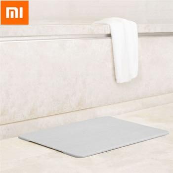 Xiaomi Diatomite Carpets Quick-drying Bathroom Mats Non-Slip Back Rug Soft Bathroom Carpet Memory Foam Bath Mat Туалет