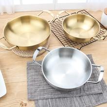 Мини шеф-повара Классический нержавеющей стали каждый день кастрюля посуда-внутренний диаметр 18 см/20 см/22 см