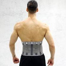 Elastic Breathable Lumbar Brace Waist Support Corset Orthope