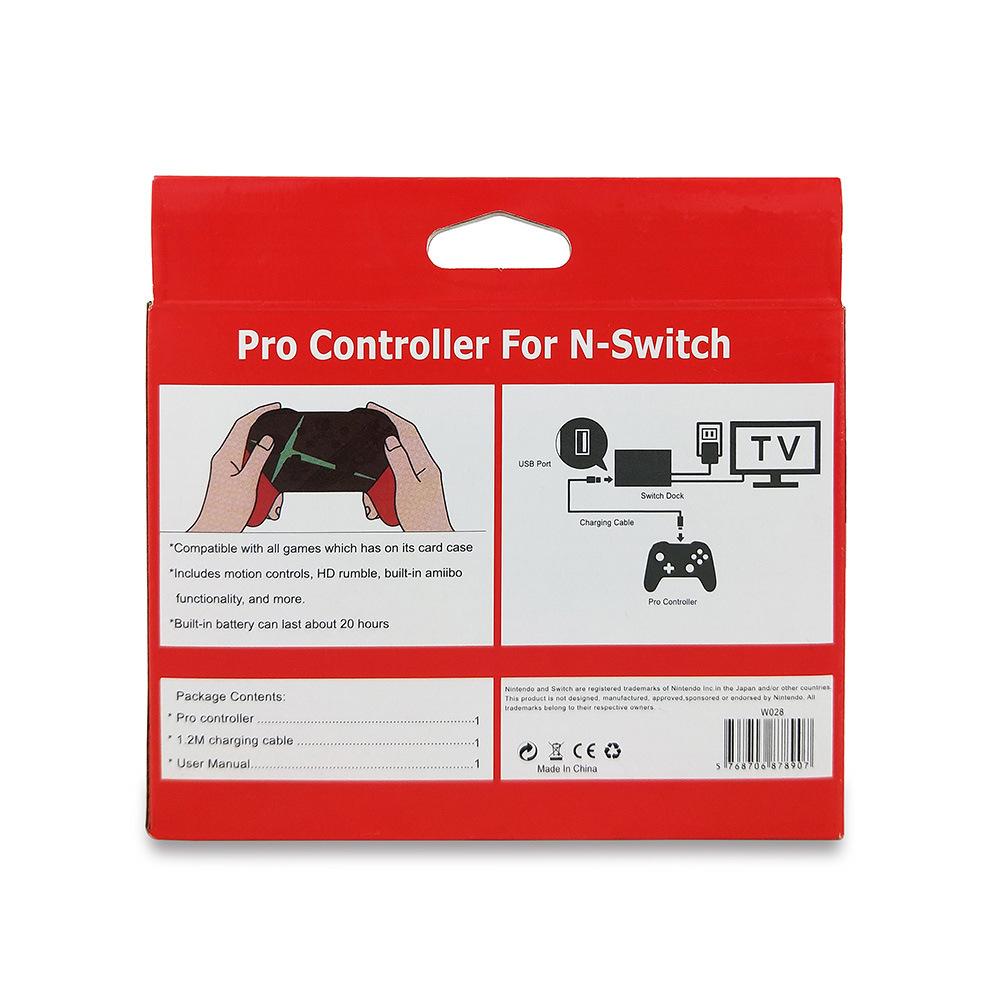 US $21 24 40% OFF|Gamepad For Switch Pro Bluetooth Wireless Controller For  NS Splatoon2 Remote Gamepad For Nintend Switch Console Joystick-in Gamepads