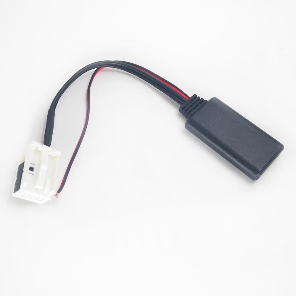 Carro Módulo Bluetooth de Áudio para BMW E60 AUX-IN Biurlink 04-10 E63 E64 E61 Mini Navi Radio Stereo Aux cabo Adaptador de Áudio Sem Fio