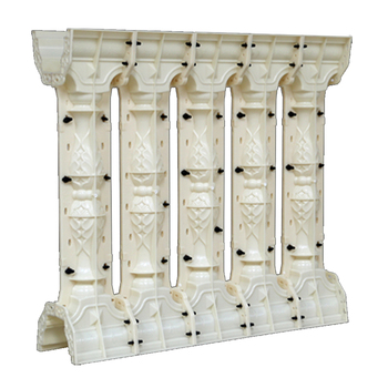 Cercas Para La Venta | Moldes De Plástico ABS Barandilla Molde AA13 Casa Villa Jardín Concreto Balaustro Moldes Para La Venta