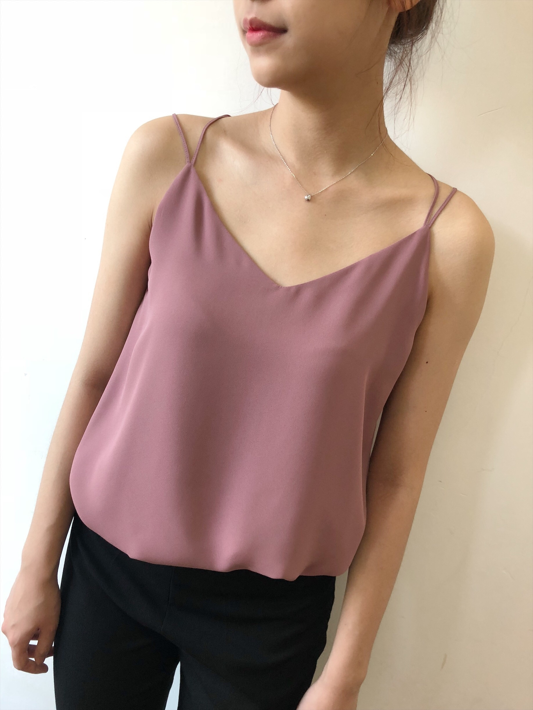 Women Chiffon Tank Top 2019 New Summer Sexy Sleeveless Straps Cami Loose Female Top Vest Ladies Shirt in Camis from Women 39 s Clothing