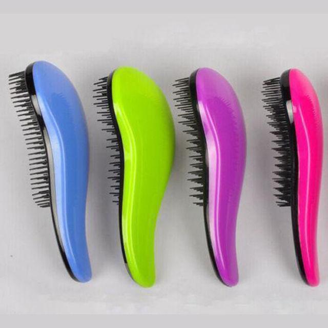 Magia Uchwyt Tangle Rozczesywania Grzebień do włosów Prysznic Szczotka Do Włosów Salon Stylizacja Tamer Narzędzie Akcesoria Podróży