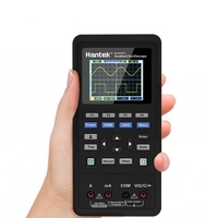 3 in1 Hantek 2CH цифровой осциллограф генератор сигналов мультиметр портативный USB 40 мГц 70 мГц ЖК дисплей область вольтметр инструменты