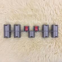 Pieza de aspiradora, soporte de pared, accesorio de montaje, unidad de almacenamiento, estante, práctico uso de la pieza para Dyson V7 V8