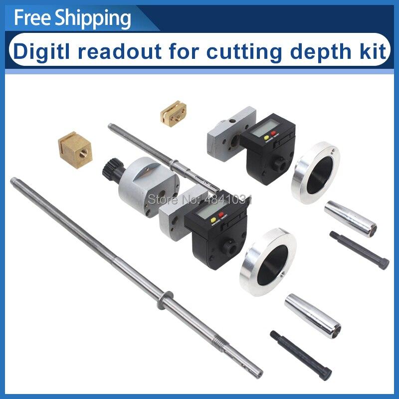 Affichage numérique du kit de profondeur de coupe (drcd dit) affichage numérique du couteau entrant tableau visible numériquement S/N: 10293 C4/SC4/M4/SM4