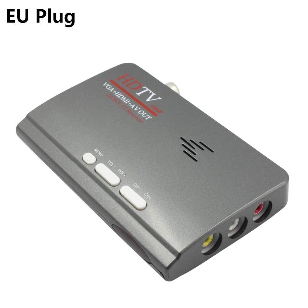 2018 nouveau numérique HDMI DVB-T/T2 dvbt2 TV VGA mode récepteur convertisseur