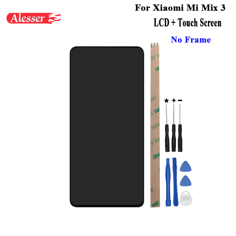 Alesser For Xiaomi Mi Mix 3 LCD Display and Touch Screen Tested Assembly Repair Parts +Tools +Adhesive For Xiaomi Mi Mix 3 LCDAlesser For Xiaomi Mi Mix 3 LCD Display and Touch Screen Tested Assembly Repair Parts +Tools +Adhesive For Xiaomi Mi Mix 3 LCD