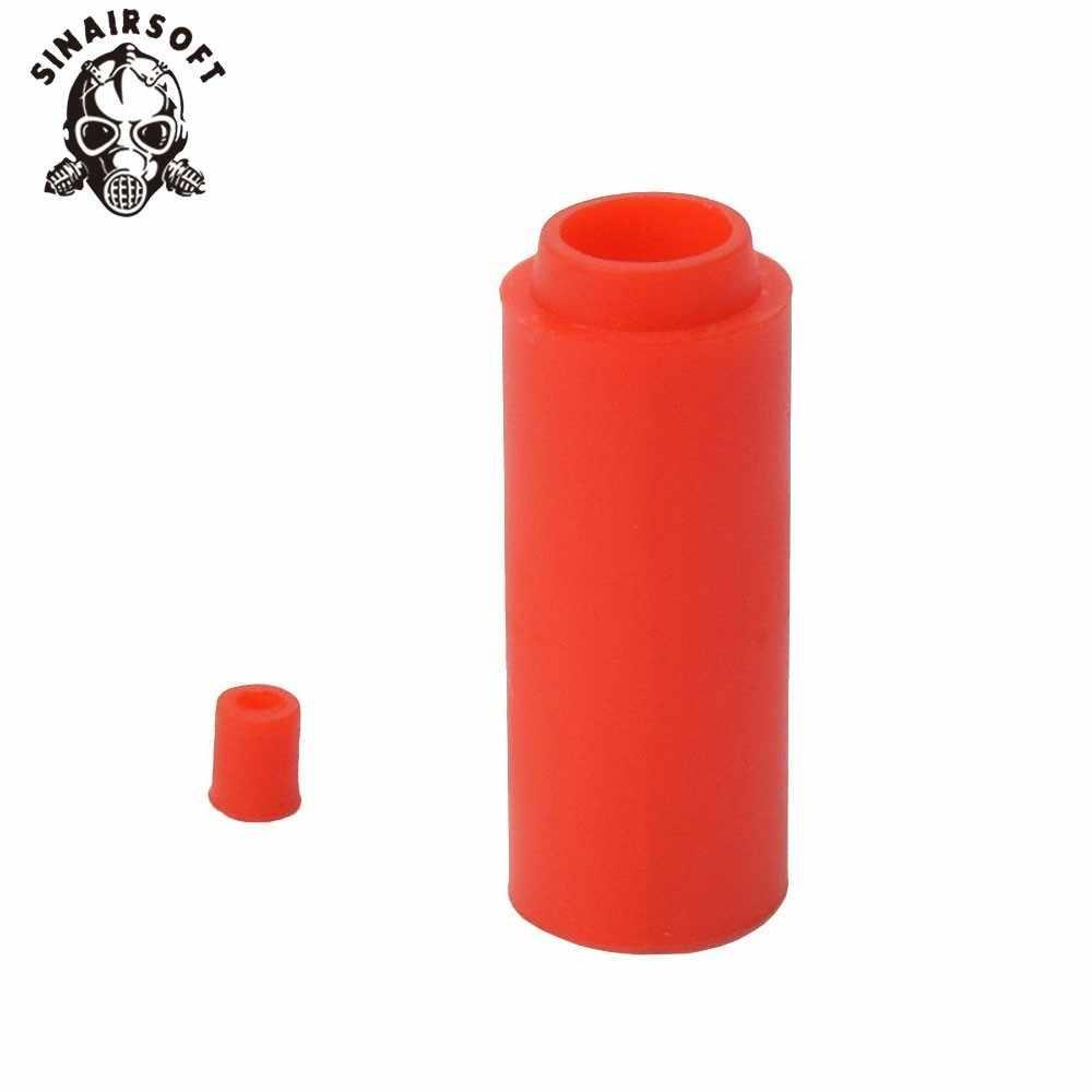 Горячая 60 градусов Красный Жесткий Тип Улучшенная Hop Up Bucking резиновая для страйкбола Aeg Пейнтбол Стрельба принадлежности для охоты