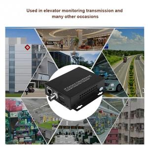 Image 3 - 1Pair Ethernet IP Extender Over Coax HD Network Kit EoC Coaxial Cable Transmission Extender for Security CCTV Cameras