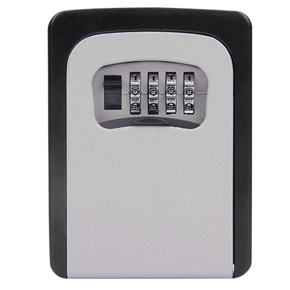 Alloy Key Storage Home Resettable Code Wall Mounted Emergency Entry Password Lock Box Multi-color 4-Digit Combination