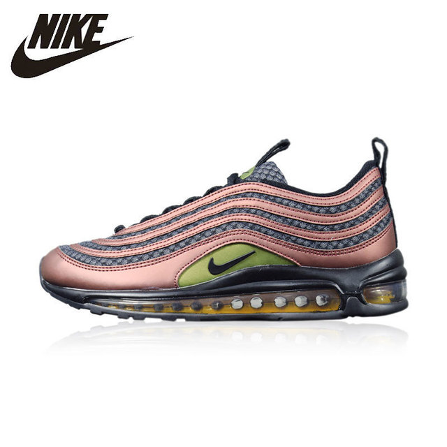 quality design 54af2 f4f87 Nike Air Max 97 Running Shoes For Man Wear resistant Shock Absorption  Footwear Non slip Comfortable Sneakers  AJ1988 900-in Running Shoes from  Sports ...