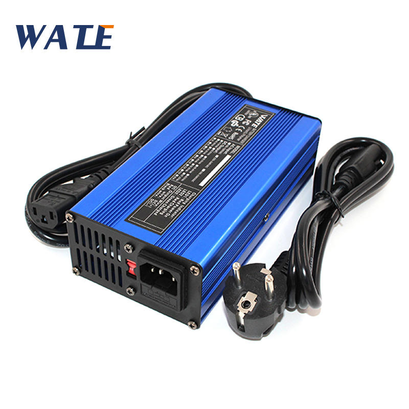 60V 3A Smart Lead Acid Battery Charger Car battery charger with alligator clip