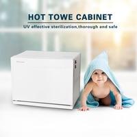 GZZT 18L Electric Towel Warmer Towel Disinfection Cabinet Sterilizer Facial Salon Spa Towel Machine UV Light Hot Towel Cabinet