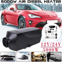 Car Heater 5KW 12V 24V Air Diesels Heater Parking Heater With Remote Control LCD Monitor for RV Motorhome Trailer Trucks Boats
