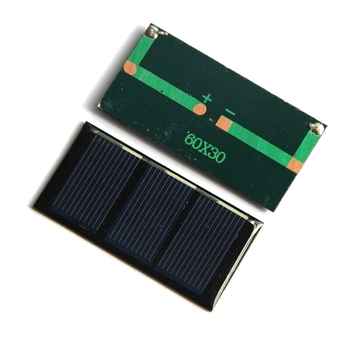 Mini 0.2W 1.5V 135MA Solar Cell Module DIY Solar Panel Charger For 1.2V Battery Light Study 60*30MM 10pcs/lot Free Shipping image