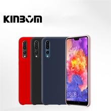 Kinbom Original Liquid Silicone Case For Huawei P10 Plus P20 P30 Pro Shockproof Shell Lite Phone